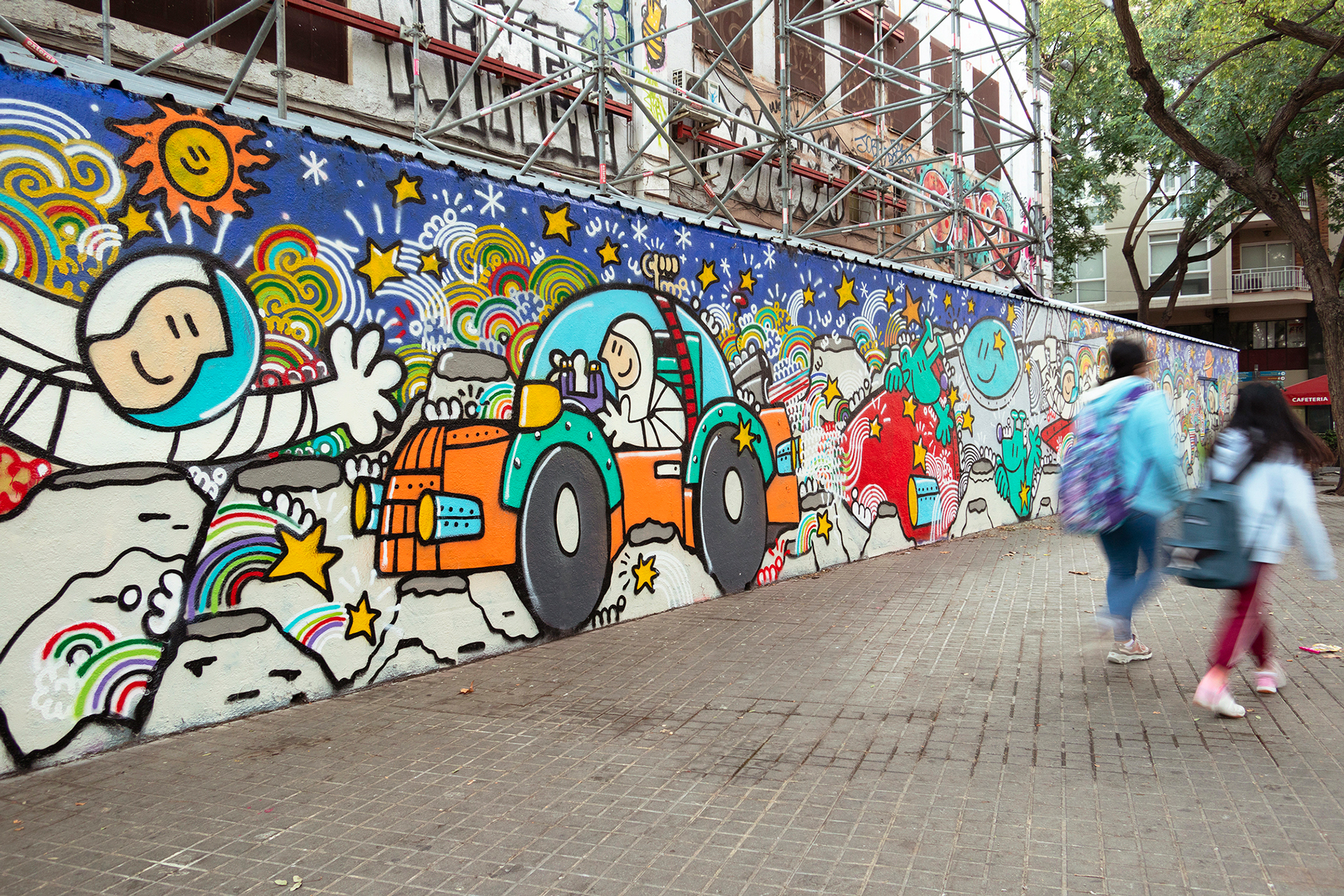 Arte urbano de Kamil Escruela & Nami
