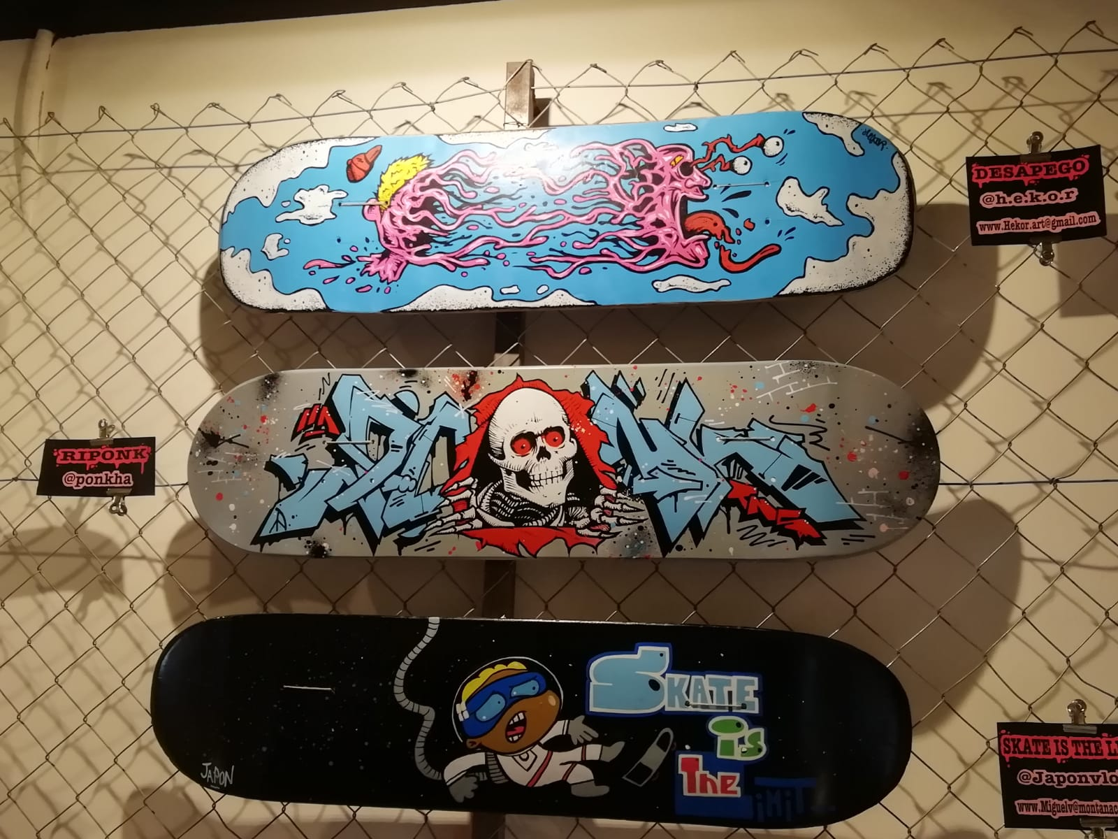 arte urbano expo skate Barcelona