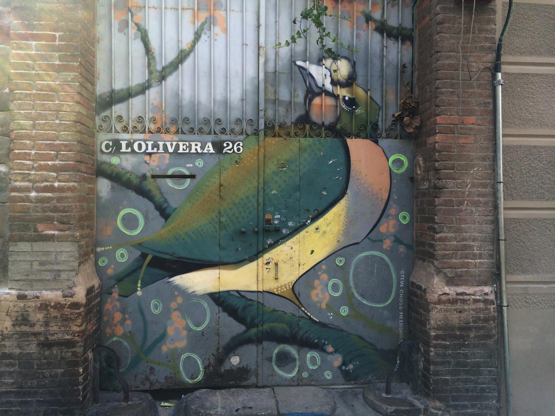 arte urbano Steve Cros Barcelona