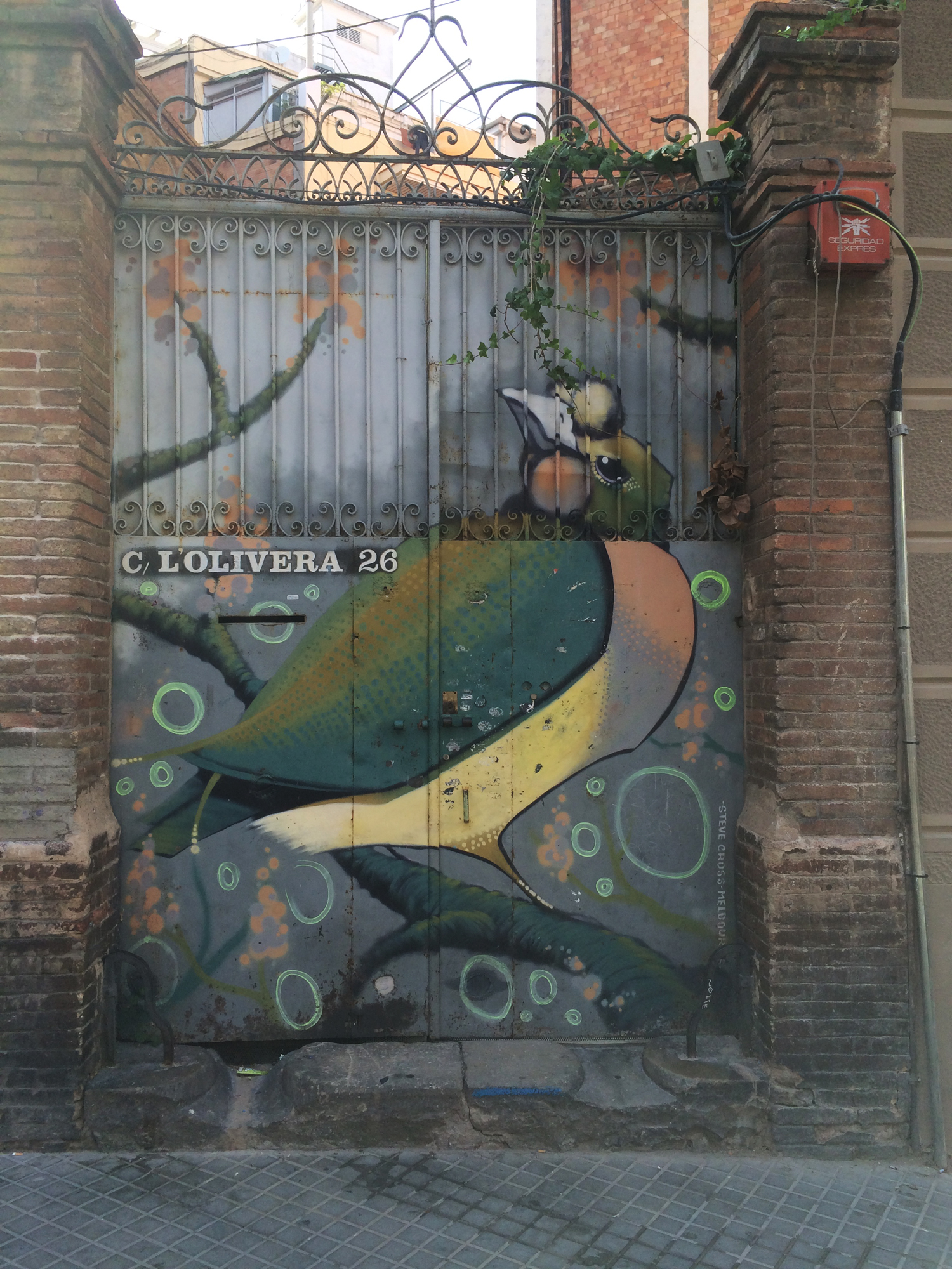 arte urbano Steve Cros Barcelonaarte urbano Steve Cros Barcelona