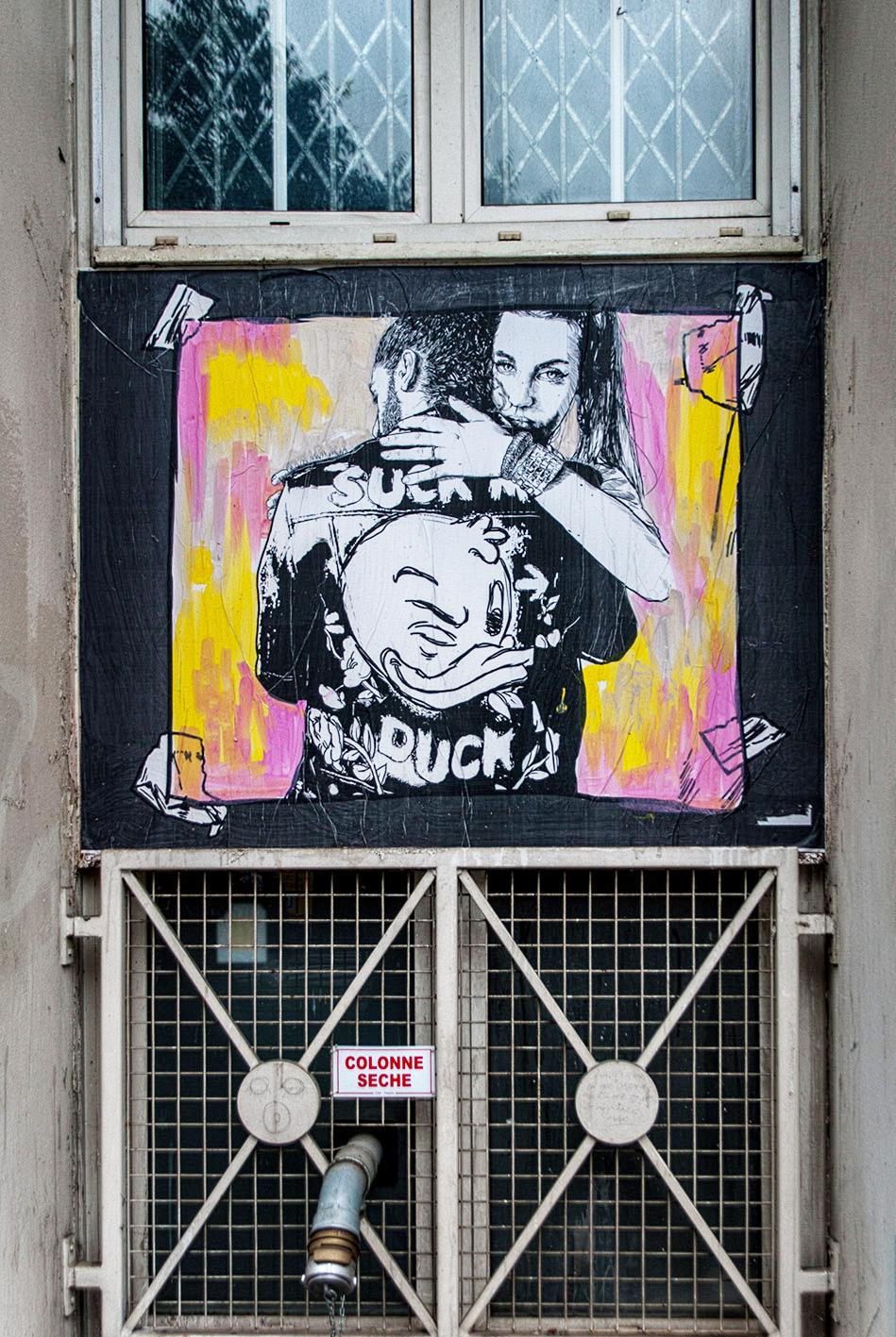 arte urbano Combo CK en Francia