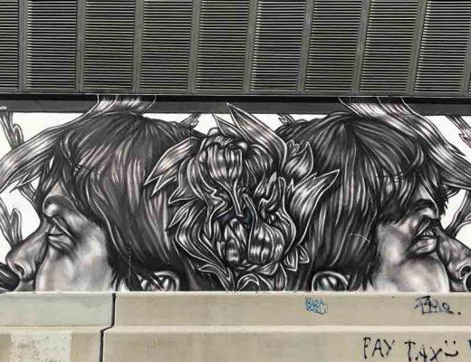 arte urbano Paola Delfín Barcelonaarte urbano Paola Delfín Barcelona