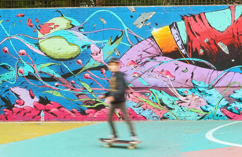 arte urbano Deih Barcelona