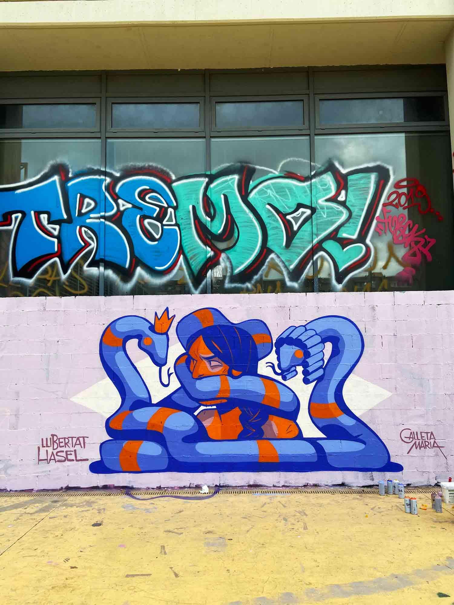 Arte urbano Libertad de expresión