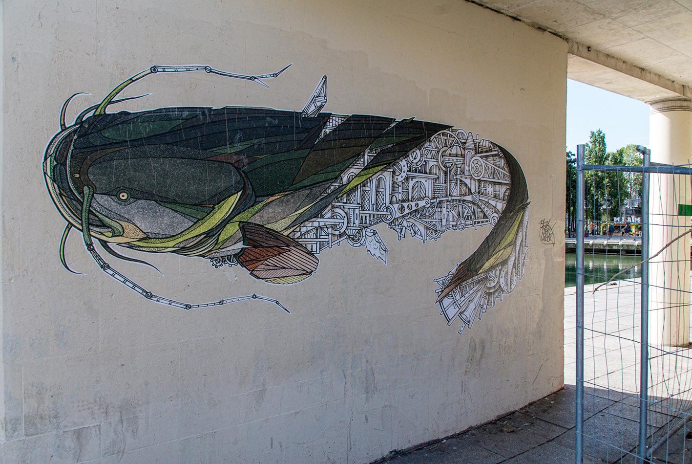 arte urbano Teuthis Francia París