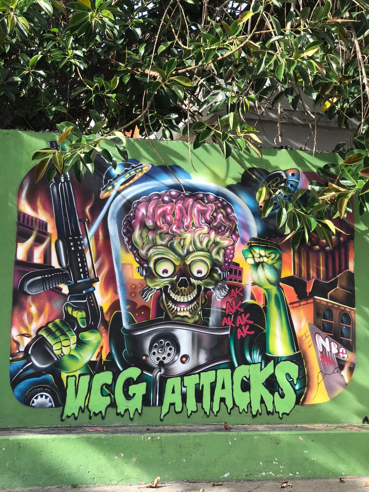 arte urbano Gran Canaria