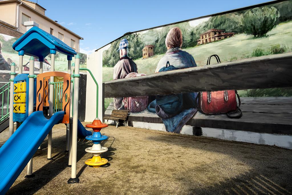 arte urbano Slim - Montmajor