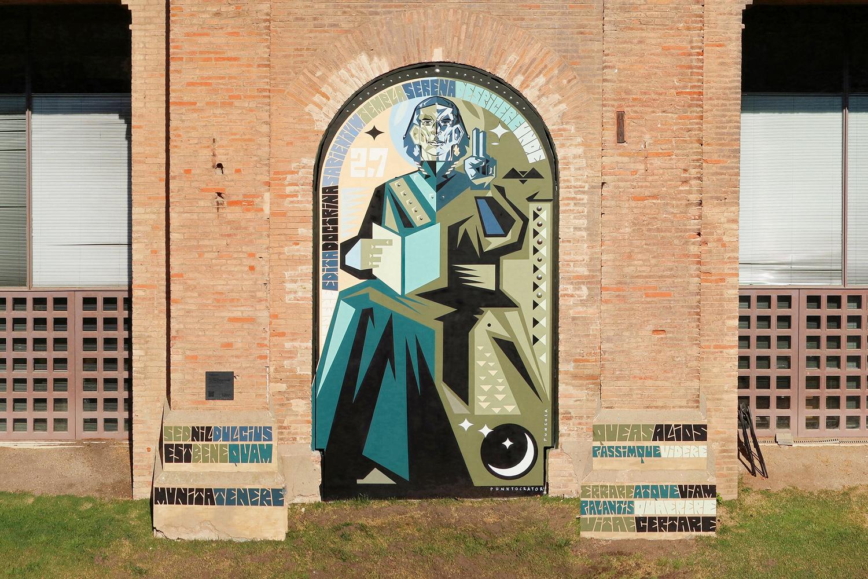 Arte urbano Frank Trepax Barcelona