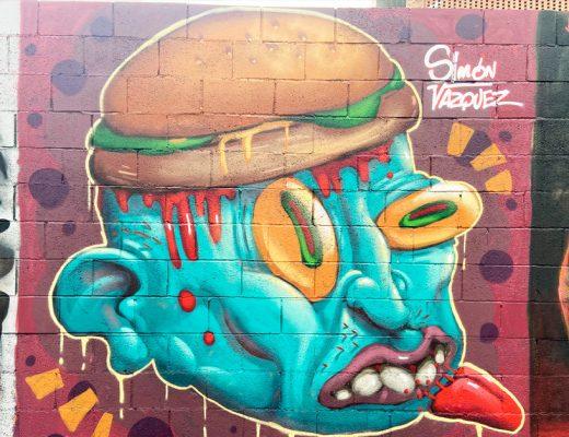 arte urbano Simón Vázquez Barcelona