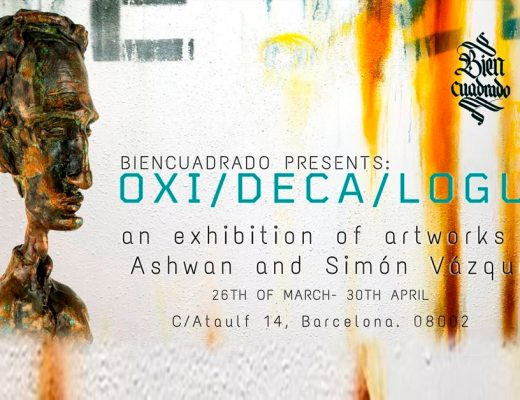 arte urbano simón Vázquez & Ashwan exposición de arte Barcelona