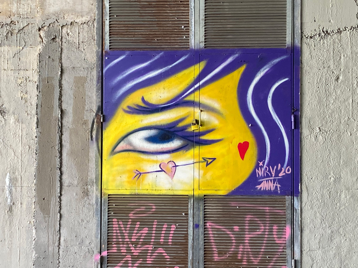 arte urbano Anna Fortuny Barcelona