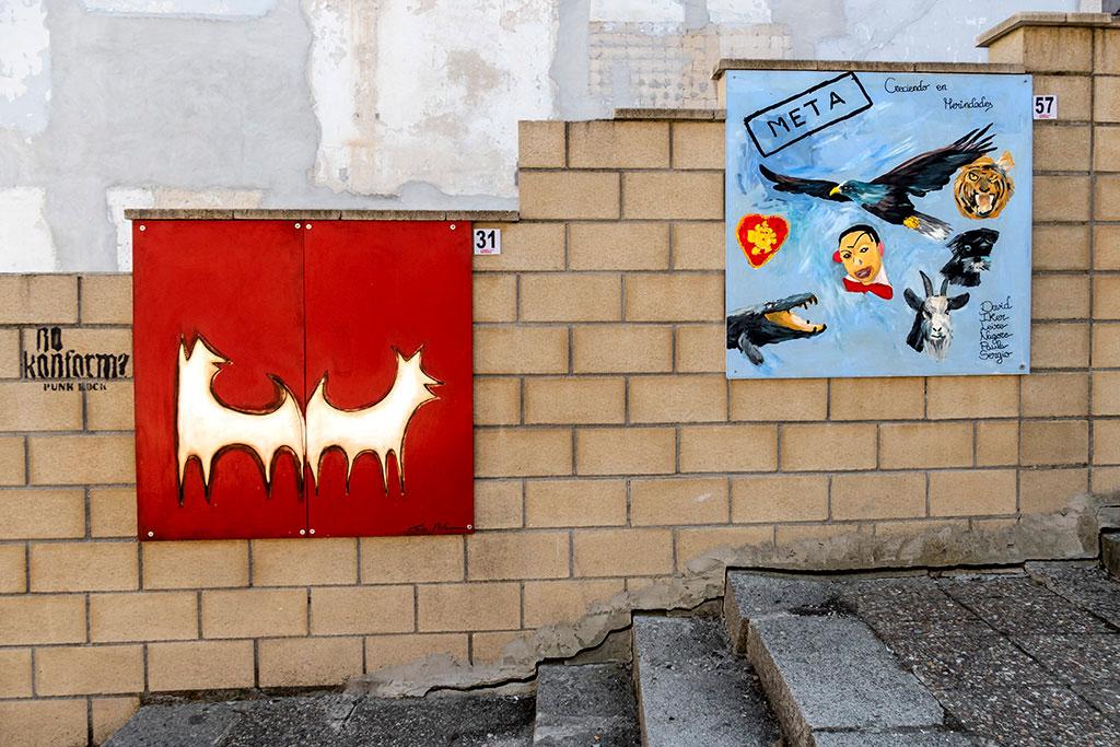 Arte urbano en Medina de Pomar - España