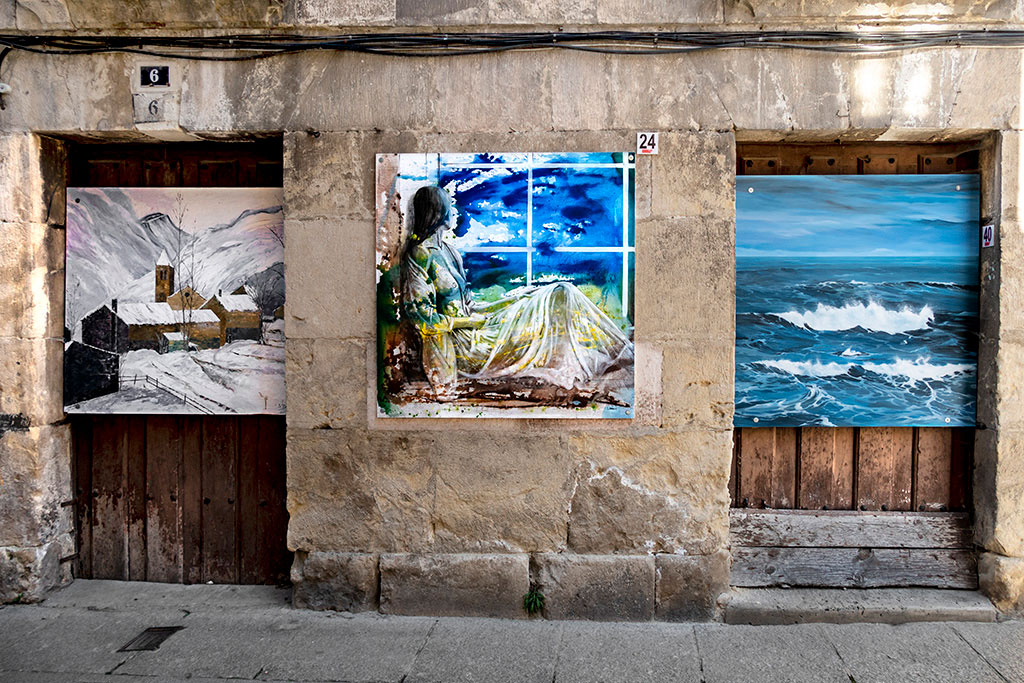 Arte urbano en Medina de Pomar - EspañaArte urbano en Medina de Pomar - España