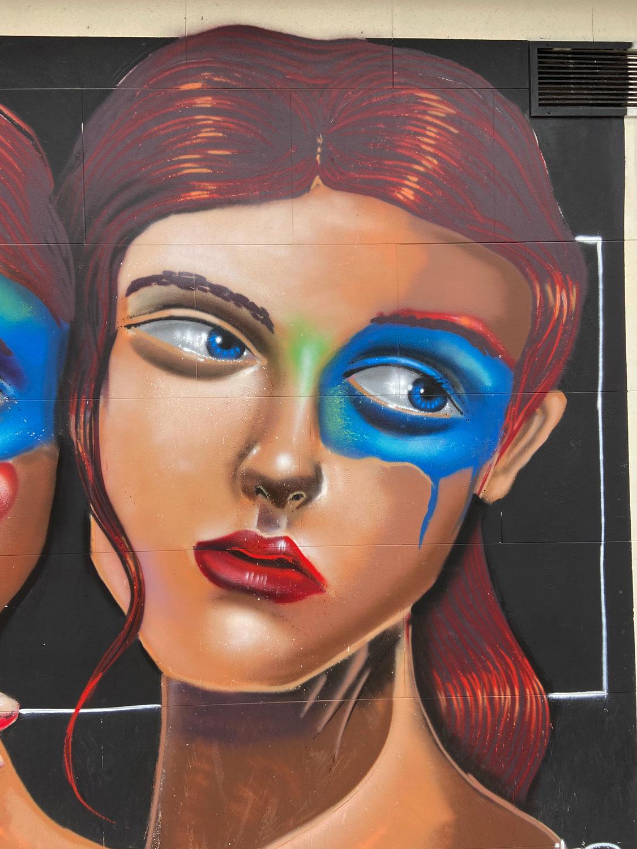 Arte urbano en La Coruña de Silc