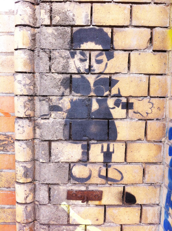 Arte urbano en Berlín – Stencil