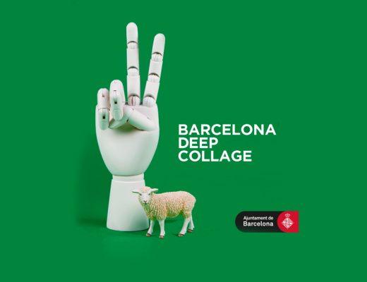 Arte urbano deep collage Barcelona