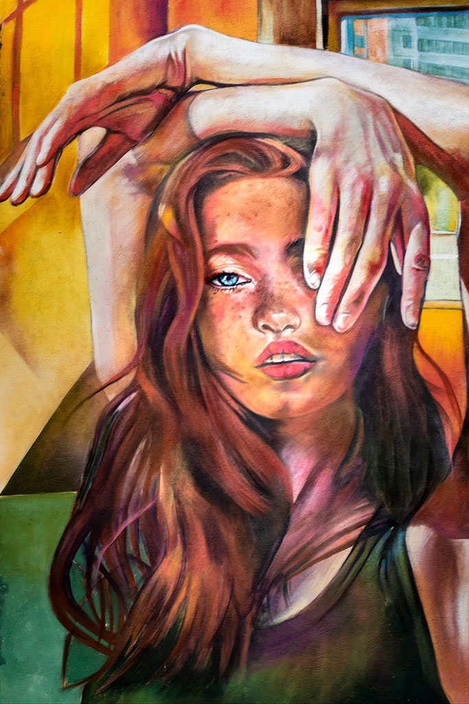 Arte urbano Lily Brick Reus
