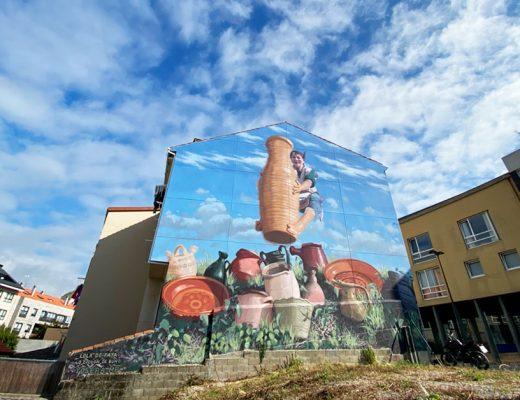 Arte mural de Yoseba MP Galicia