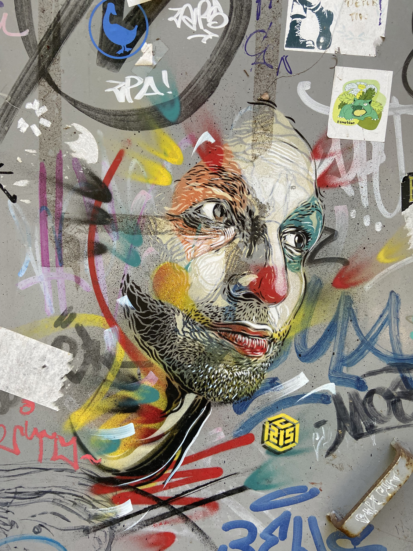 C215 arte urbano en Vigo, Galicia, stencil art