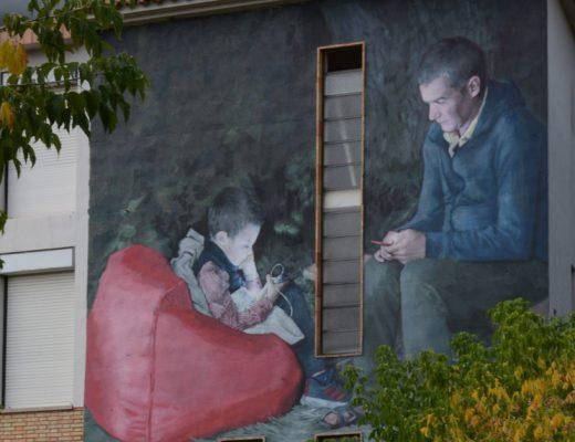 Arte urbano Silm Safont Girona
